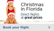 Florida flights Orlando Fort Lauderdale - Christmas