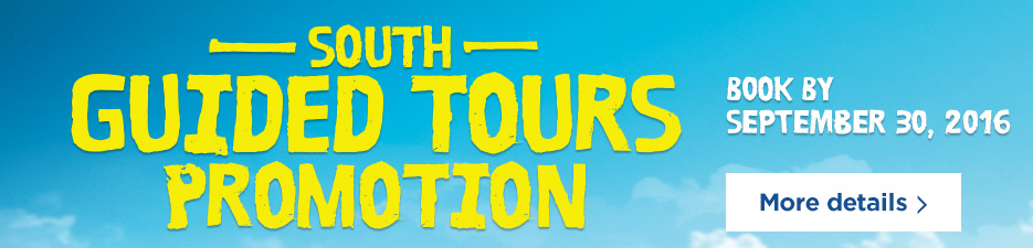 South Guided Tours Promotion