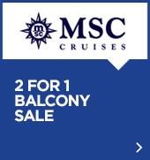 MSC 2 pour 1 promo