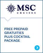 MSC Gratuities and Drinks
