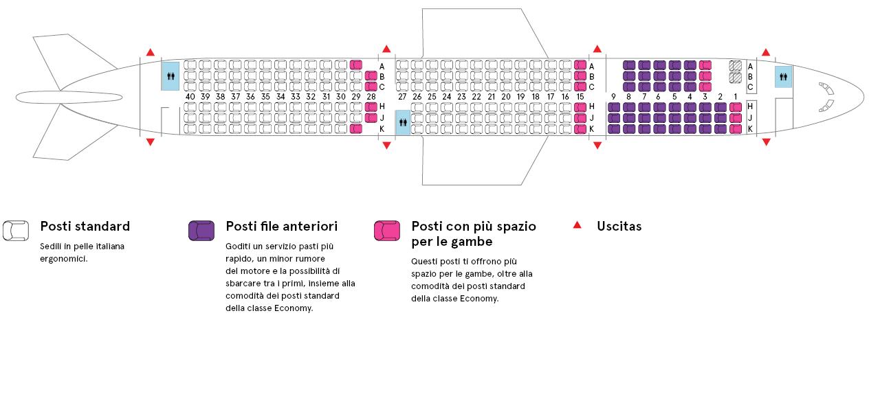 Cabina aereo Air Transat Airbus A321-200
