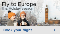 Direct flights to Europe for Christmas
